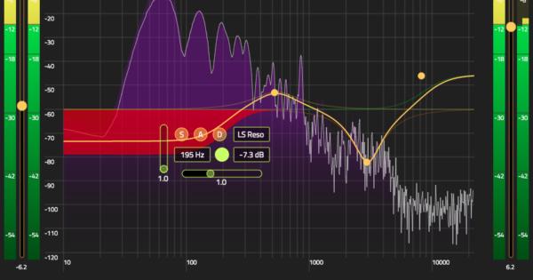 Hornet Total Eq virtual eq plug-in software daw processing audiofader