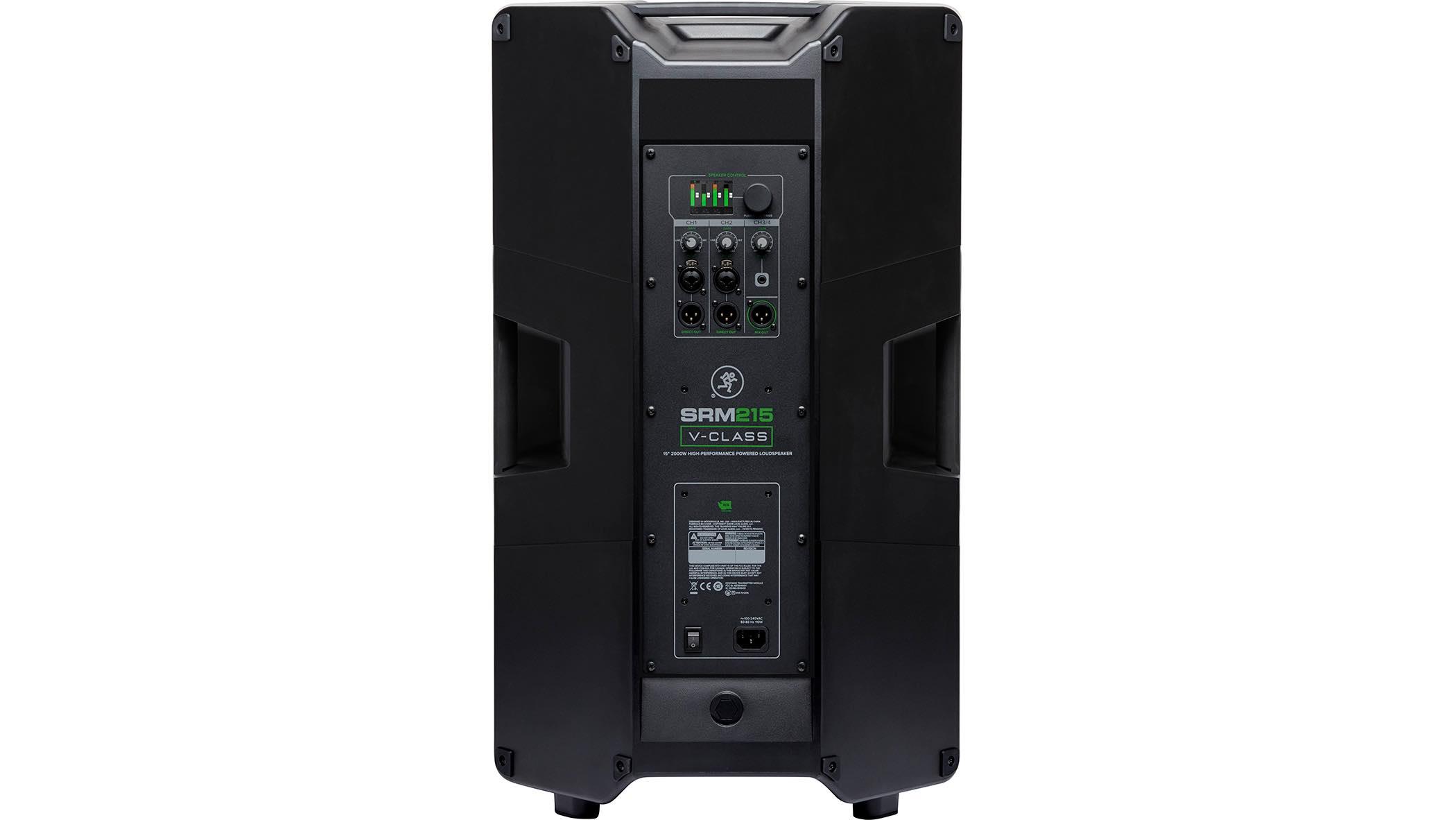 Mackie SRM210 V-Class monitor live speaker dsp pro audiofader