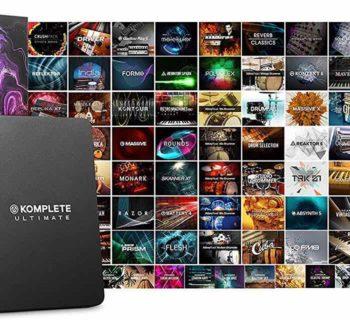 Native Instruments Komplete software virtual instrument audiofader