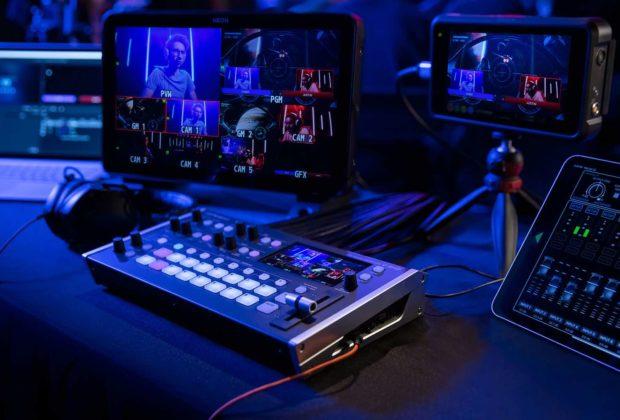 Roland Professional V-8HD modsart video audio pro studio live hardware modsart audiofader