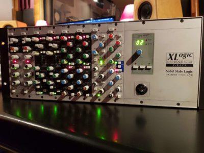 SSL XR418 Compressor hardware rack studio pro test audiofader