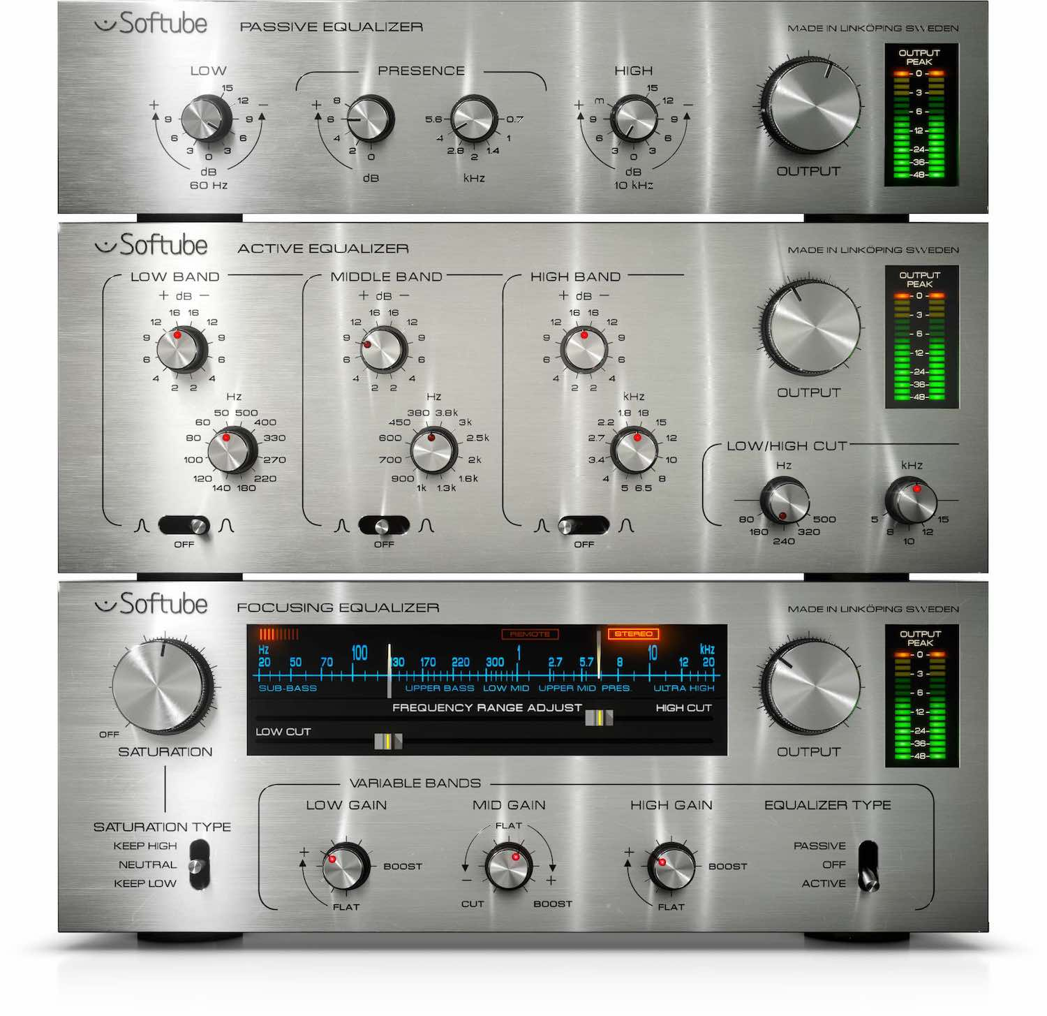 Softube Passive Active Pack Volume 4 plug-in bundle collection software daw virtual mix amp