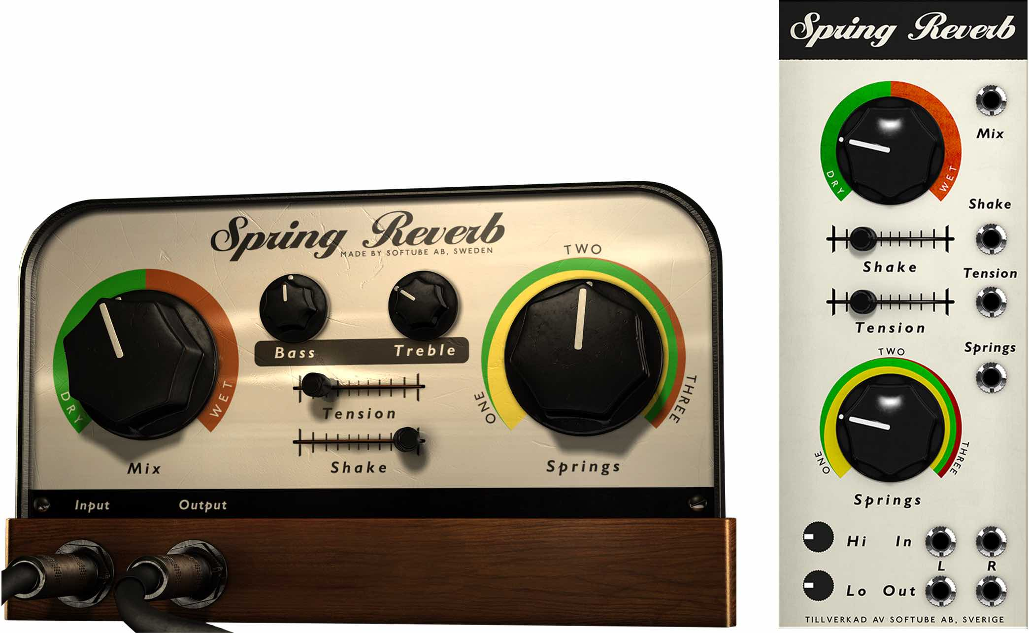 Softube Spring Reverb Volume 4 plug-in bundle collection software daw virtual mix amp