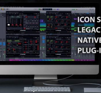 Tc Electronic Icon Series Legacy Native Plug-In audio daw software virtual reverb delay modulation audiofader
