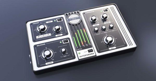 United Plugins Autoformer plug-in audio mix virtual audiofader