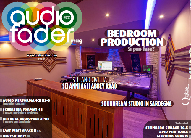 Audiofader #22 - Bedroom production, S. Civetta, Soundream
