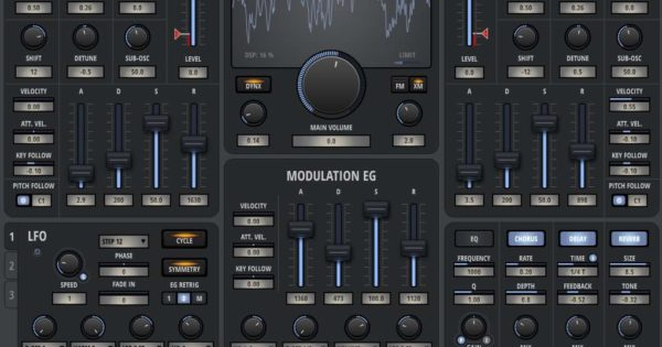 nektar bolt virtual instrument soft synth software daw test audiofader