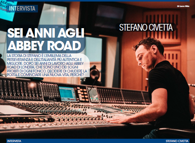 stefano civetta abbey road audiofader