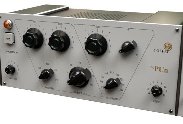 Acustica Audio Coffee The Pun virtual free freeware gratis plug-in software daw virtual mix audiofader