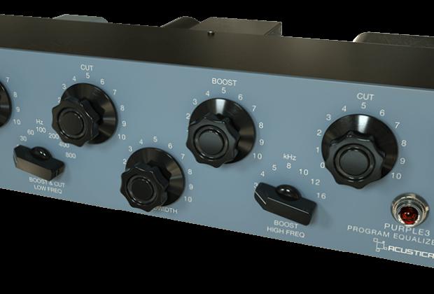 Acustica Audio Purple3 virtual software audio daw software eq pultec audiofader