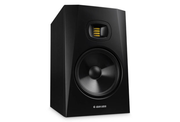 Adam Audio T8V monitor audio speaker studio pro project home midi music rec mix audiofader