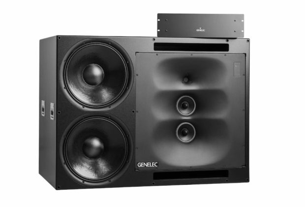 Genelec 1235A audio studio pro rec main mix monitor speaker midiware audiofader