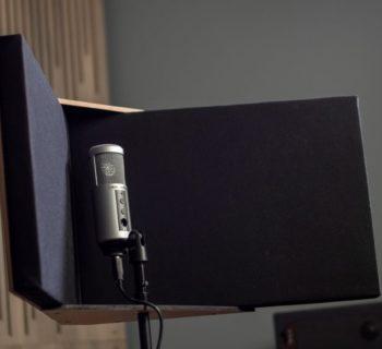 Gik Acoustics Viso Booth hardware studio voce strumenti musicali