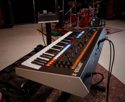 test roland jupiter-x synth hardware digital sintetizzatore audiofader