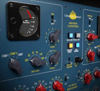 Softutbe Chandler Limited Zener-Bender plug-in software daw virtual mix channel strip audiofader