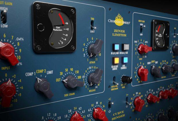 Softutbe Chandler Limited Zener-Bender plug-in software daw virtual mix channel strip audiofader