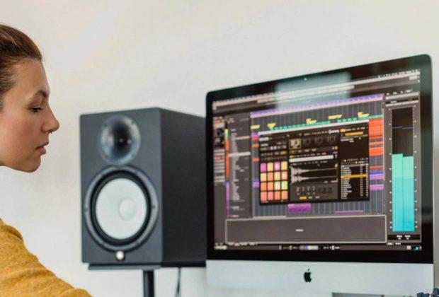 Yamaha HS MP hardware studio monitor speaker audio audiofader