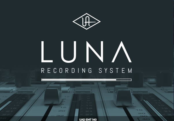 Universal Audio LUNA daw software virtual plug-in unison mix record producer music andrea scansani test audiofader
