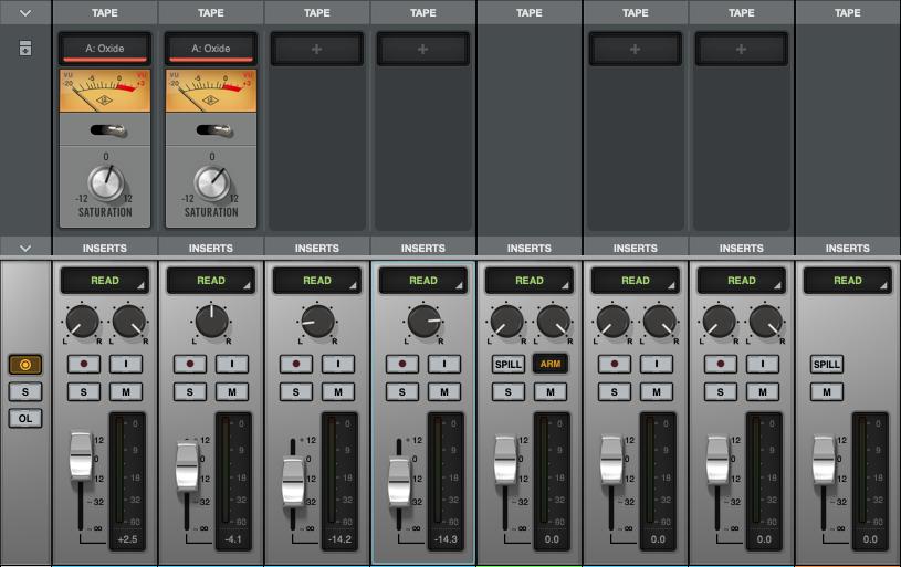 Universal Audio LUNA vs pro tools audiofader
