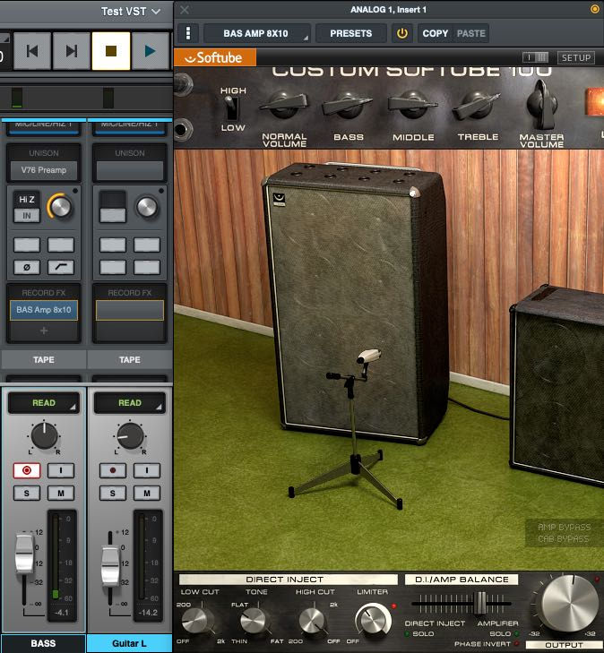 Universal Audio LUNA recording system free audiofader come suona