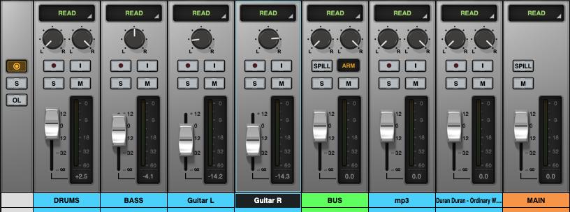 LUNA - Universal Audio audiofader