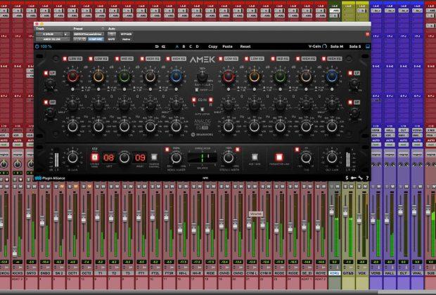 Amek EQ200 brainworx pluginalliance virtual software daw mix audiofader