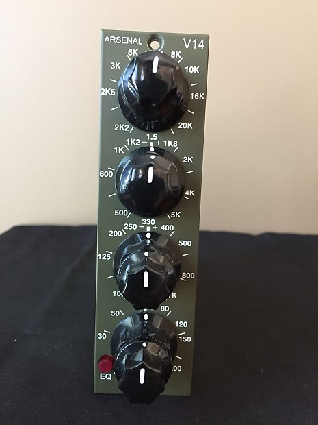 Arsenal Audio api 500 rack outboard analog hardware eq luca pilla test r24 v14