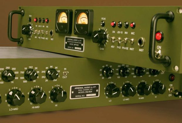 Arsenal Audio api 500 rack outboard analog hardware eq luca pilla test r24 v14