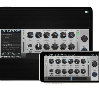 Eventide CrushStation h9 software plug-in daw virtual mix Mac desktop iOS ipad iphone audiofader