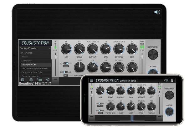 Eventide CrushStation h9 software plug-in daw virtual mix Mac desktop iOS ipad iphone audiofader