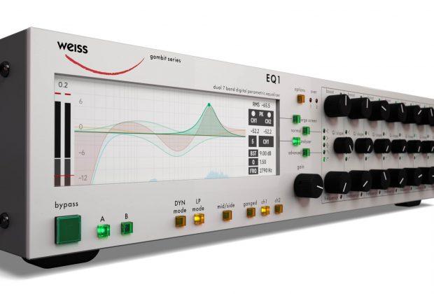 Softube Weiss EQ1 software plug-in virtual eq mix daw studio pro midiware audiofader