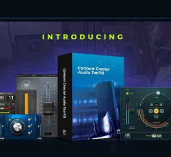Waves Content Creator Audio Toolkit virtual daw software plug-in bundle audiofader