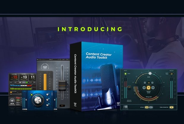 Waves Content Creator Audio Toolkit virtual daw software plug-in bundle audiofader