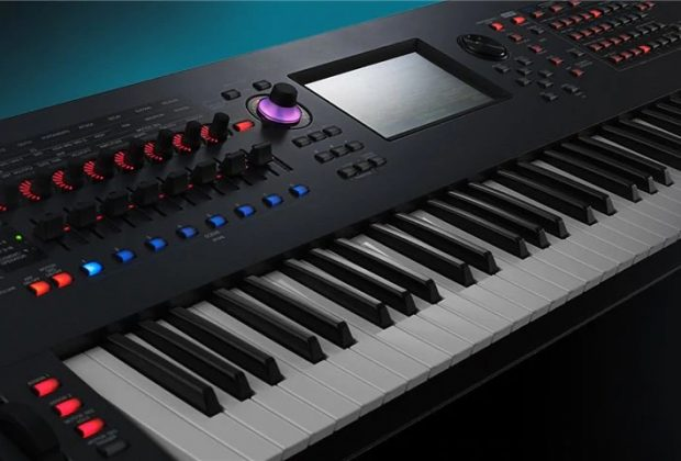 Yamaha montage synth sintetizzatore digitale music producer firmware tastiere workstation audiofader