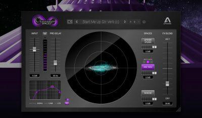 Apogee bob Clearmountain's Spaces plug-in audio mix reverb riverbero virtual daw software audiofader