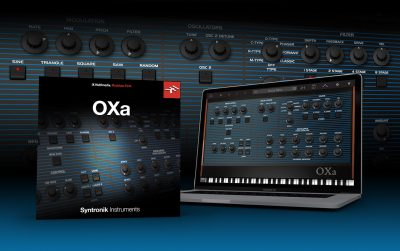 Ik Multimedia OXa Syntronik expansion synth soft sintetizzatore software virtual instrument oberheim ob-xa jump van halen strumenti musicali