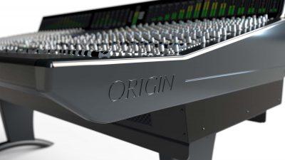 SSL Origin console hardware analog recording mix rec mixing solid state logic audiofader pro audio