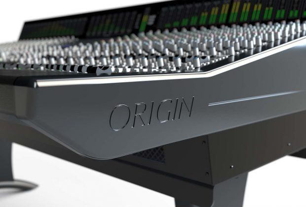SSL Origin console hardware analog recording mix rec mixing solid state logic audiofader pro audio