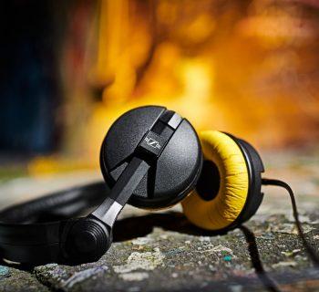 Sennheiser HD25 75° anniversary anniversario special edition edizione speciale aluminium plus light exhibo dj producer audio pro headphones mix cuffie audiofader