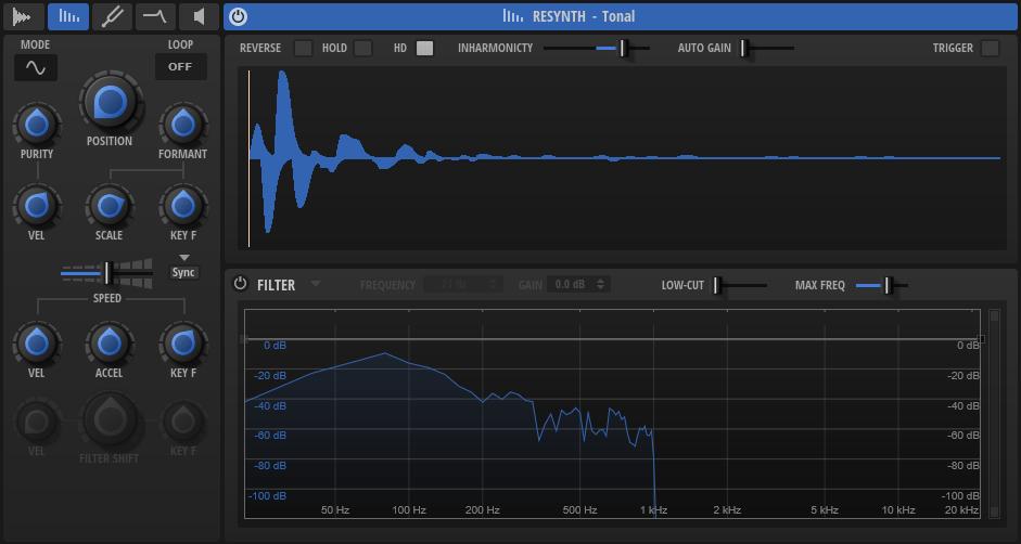 Steinberg Backbone GUI resynthesizer vst drum cubase percussive sound subacractive plug-in au music production sound design test pierluigi bontempi audiofader
