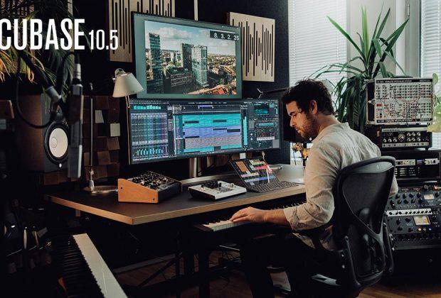 Steinberg Cubase 10.5 daw software producer music mix edit mastering video virtual audio pro studio home project audiofader tutorial pierluigi bontempi