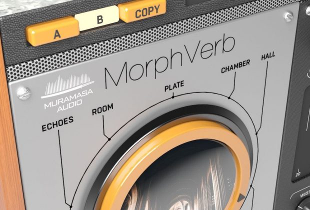 United Plugins MorphVerb plug-in audio pro studio reverb riverbero daw software virtual mix audiofader