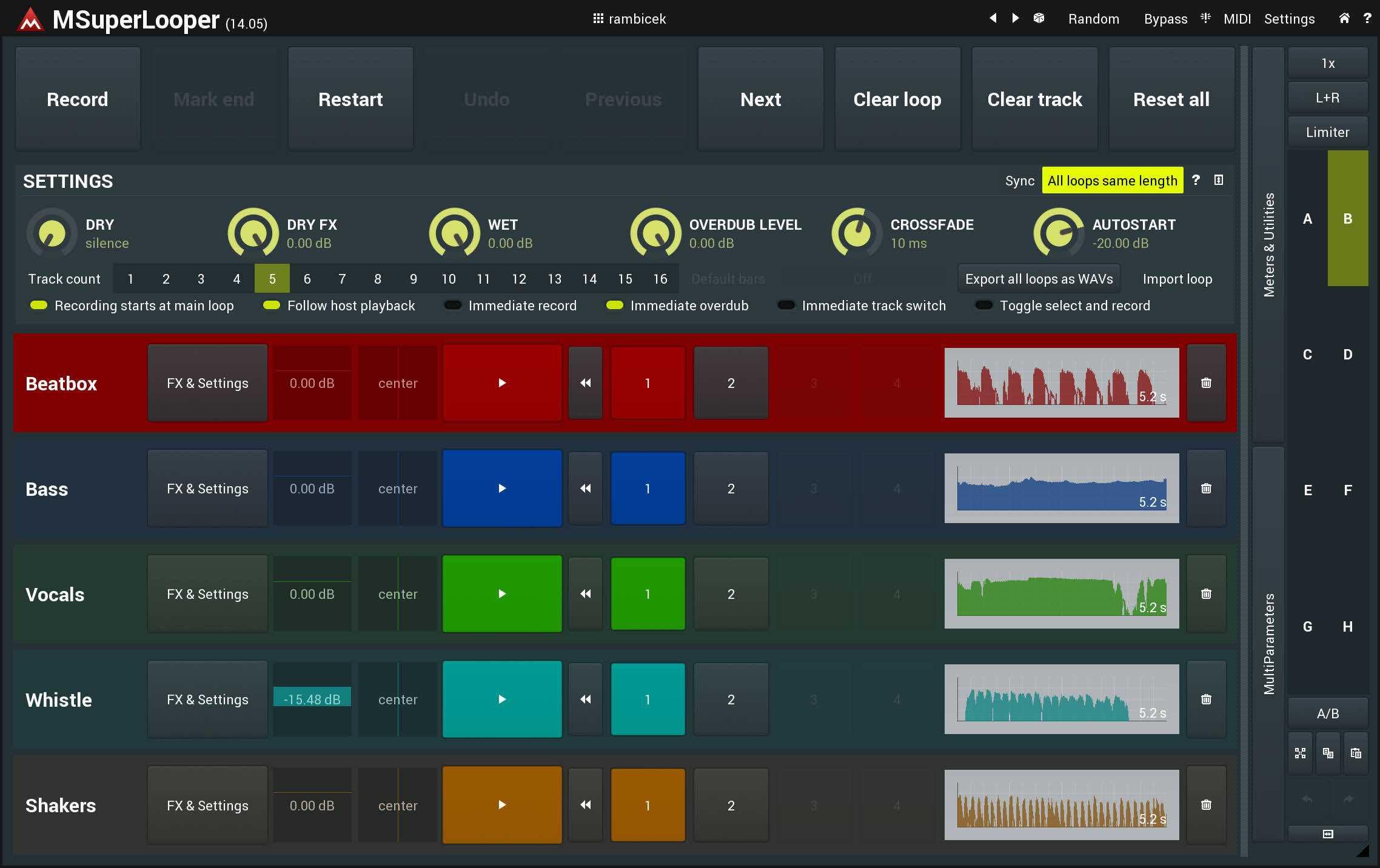 Melda Production MSuperLooper test andrea maio strumenti musicali plug-in prezzo