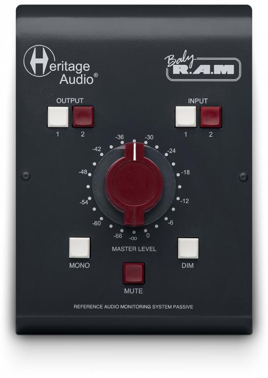 Heritage Audio Baby RAM monitor contoller audiofader