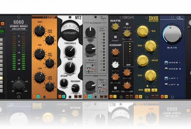 McDSP-Plugins 6060 virtual plug-in audio software daw mix processing audiofader