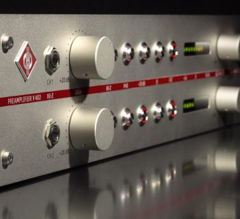 Neumann V402 Dual Channel Preamp audio pro studio recording exhibo
