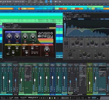 PreSonus StudioOne 5 daw professional audio artist software virtual mix edit rec studio pro audiofader
