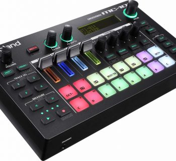 Roland MC-101 hardware dj digital groovebox performance zenology rolandcloud test audiofader andrea maio