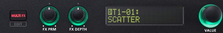 Roland MC-101 prezzo audiofader