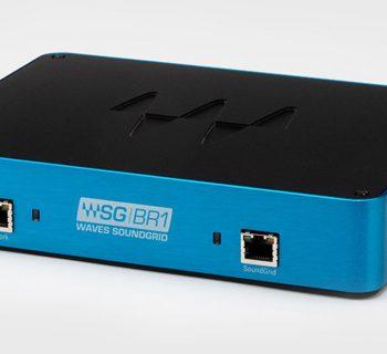 waves SoundGrid BR1 ethernet avb aoip network audio pro live broadcast MOTU backline midi music audiofader